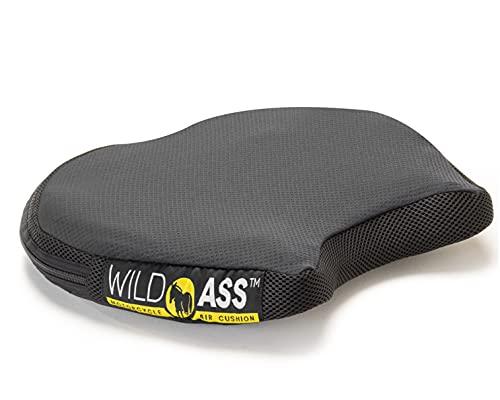 Wild Ass Smart Air Gel Motorcycle Seat Cushion, Black