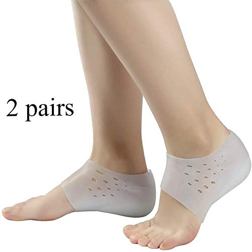 Semelles invisibles en silicone, hauteur de levage-élévation 3-4 cm (avec évent), pour soulager divers problèmes de pieds (3)
