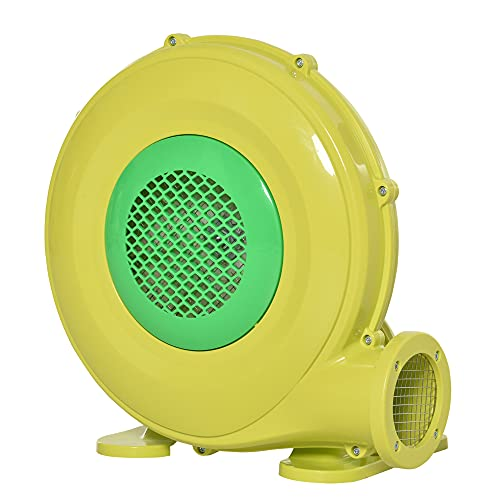 Outsunny Soplador Eléctrico de 450W para Castillo Hinchable Ventilador de Aire Industrial...