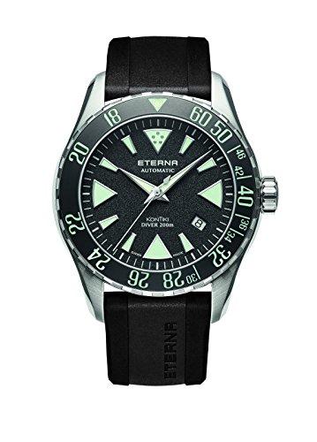 Eterna Herren-Armbanduhr KonTiki Diver Datum Analog Automatik 1290.41.49.1417