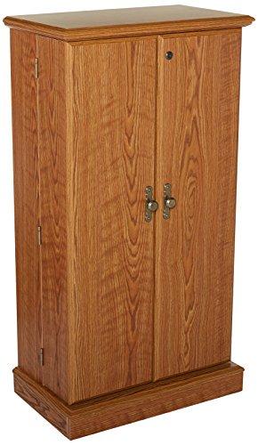 Sauder 401349 Orchard Hills Multimedia Storage Cabinet, Carolina Oak Finish