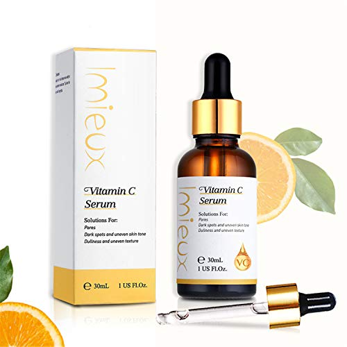 Vitamin C Serum 15% High Concentration Essence Clear Gel Facial Concentrated Stock Solution Face Humectant Instant Hydration Brighten Skin Colour Whitening Anti-wrinkle (30ml)