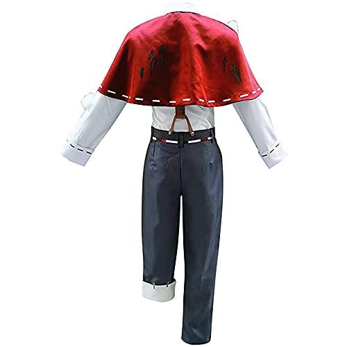 REALTH Juego de Anime Edgar Valden Disfraz de Cosplay, Unisex Luca Balsa Vera Nair Cosplay Disfraces Uniforme Disfraces de Halloween Vestido Elegante