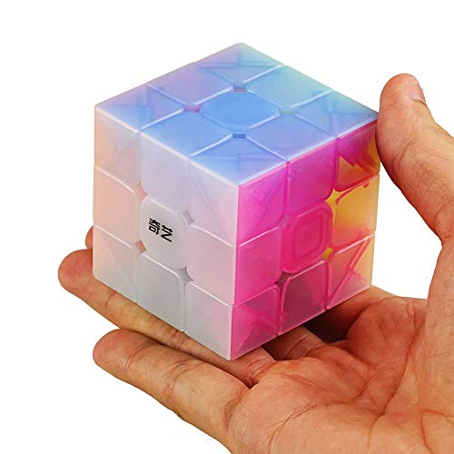 Gobus Warrior W 3x3x3 YongShi W Magic Cube Speed Cube Puzzle Cube (Jelly Colour Stickerless)