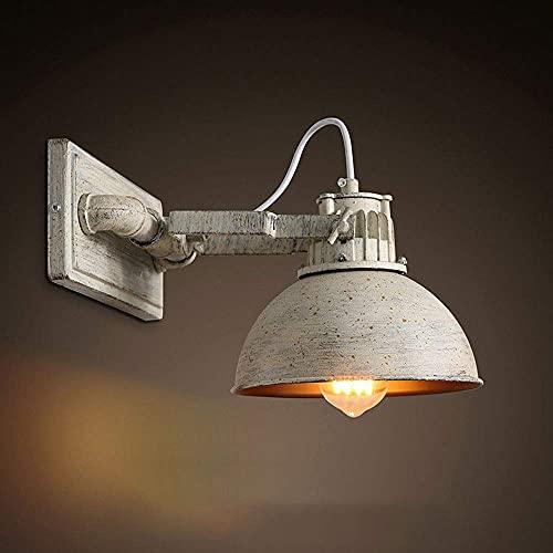 WEM Lámparas de pared, aplique de pared de metal vintage, lámpara de pared de hierro industrial, accesorios de iluminación de pared ajustables Rsutic para restaurante, dormitorio, pasillo, cab