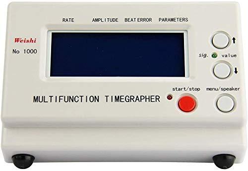 Timegrapher NO.1000 Uhr Timing Maschine Multifunktions-Tester Werkzeug,TOPQSC Machine Tool Tester Uhr Timing Machine,Mechanische Uhr Tester Repair Tools