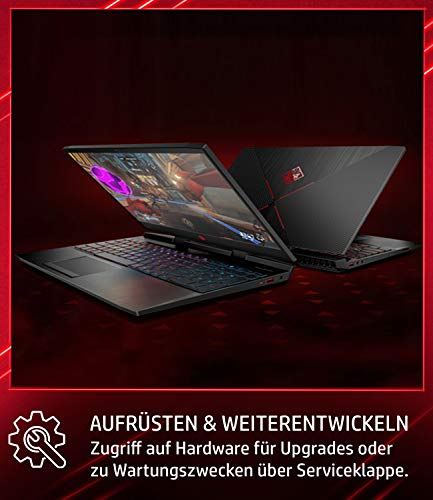 Omen by HP 15-dc0201ng 15,6 Zoll / Full HD IPS 60 Hz Gaming Laptop Bild 3*