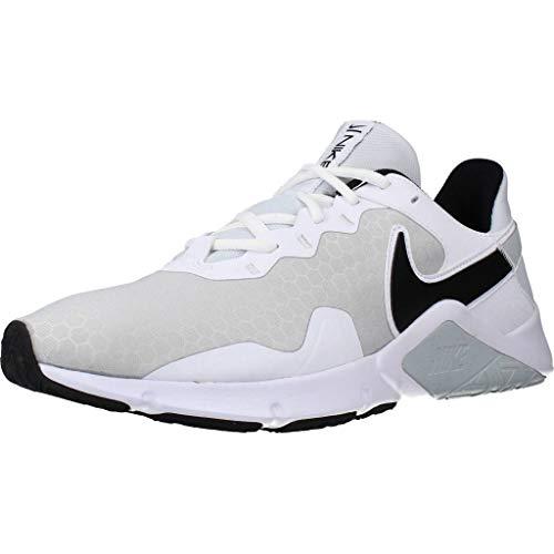 Nike Herren Legend Essential 2 Gymnastikschuh, Pure Platinum/Black-White, 45 EU