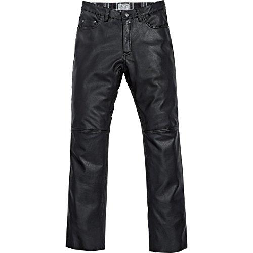 Spirit Motors Motorrad Jeans Motorradhose Motorradjeans Klassik Lederhose 1.0 schwarz 56, Herren, Chopper/Cruiser, Sommer