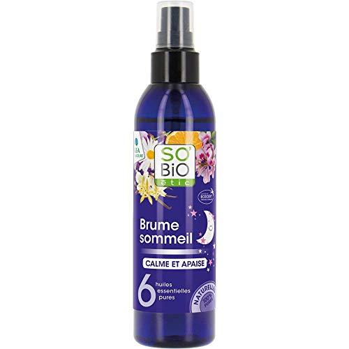 SO'BiO étic Brume Sommeil, Aux 6 Huiles Essentielles Bio 100 ml