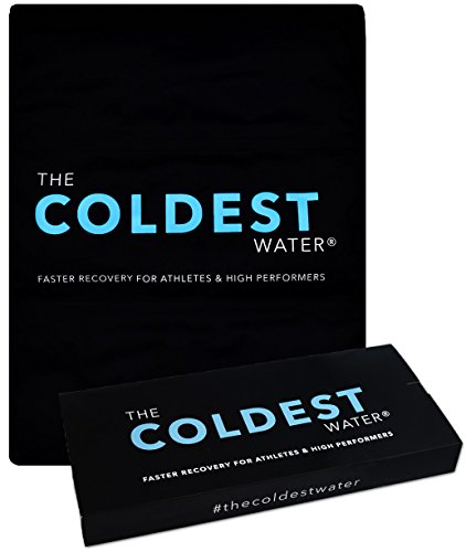 """The Coldest Ice Pack - Gel Ice Packs Reusable Cold Therapy Pack (Best for Pain and Injuries of Knee, Shoulder, Foot, Back, Ankle, Neck, Hip, Wrist) Multiple Sizes (5.5"""" x 7"""" (Pack of 2))"""