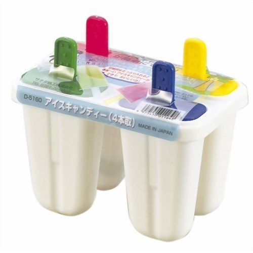 アイスキャンディーメーカー 4本取 ( アイスキャンディー型 製氷器 )