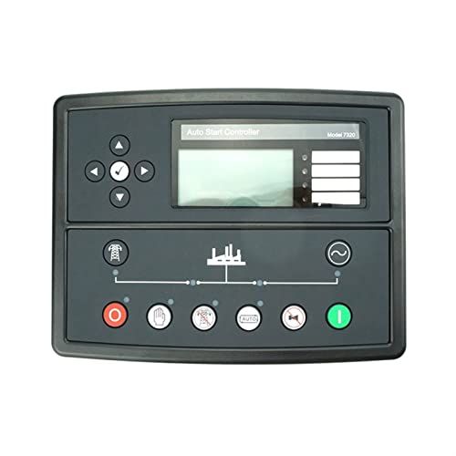 XINXI-YW Paneles Panel de Control del generador Diesel DSE7320 Conjunto de generador Diesel Controlador de Auto-Arranque, Conjunto de generadores Módulo de Control Remoto (Size : DSE7320)