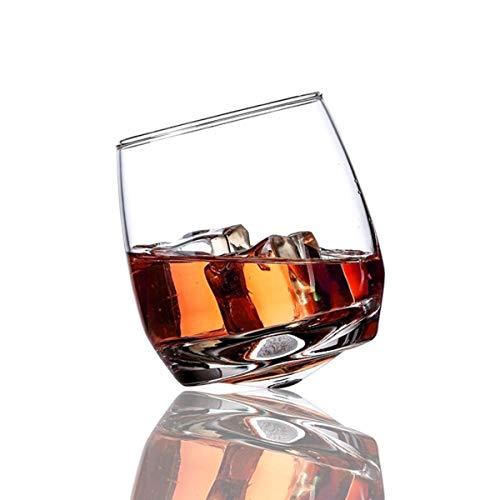 Home+ Vasos de Whisky Gafas de Whisky - 10 oz (6pcs) - Vintage de cristalería para Beber, tumblers escocés, Bourbon y cócteles - Regalo del Padre
