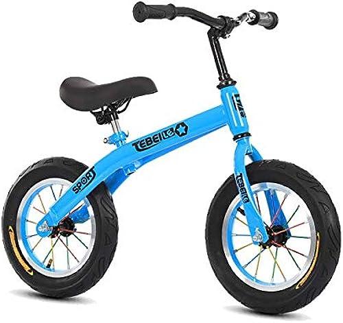 ZNDDB Kinder Laufrad 2-6 Jahre Altes, H nverstellbares Ultraleicht-Kinderfürrad, Ergonomischer, Rutschfester, Abriebfester Gummireifen