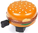 Trail This Cheeseburger Bicycle Fun Bell for MTB Road Cruiser Bikes Burger/Hamburger