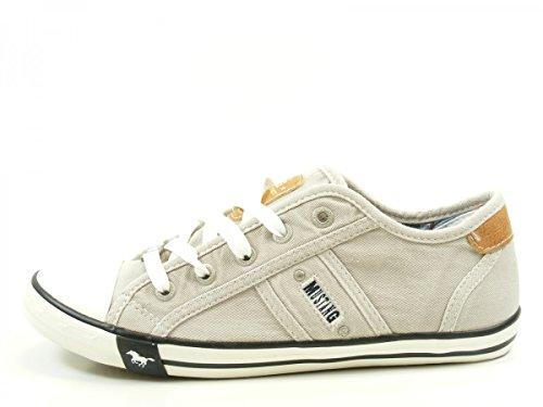 Mustang Damen 1099-302-22 Sneaker, Grau (22 hellgrau), 38 EU