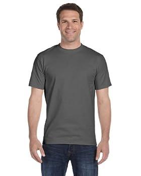 Hanes Men s 4Pack Crew Neck Tagless Black-Grey Undershirts Crewneck T-Shirt 3XL