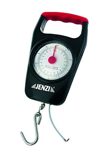 Jenzi Fischwaage Federzugwaage Deluxe bis 22kg mit Maßband
