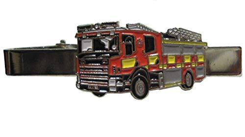 B4B Krawattenklammer Feuerwehr Feuerwehrmann Notdienst 999 Metall Emaille