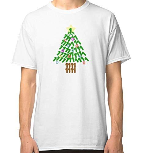 Geek Decorated Binary Christmas Tree for Programmers Classic T-Shirt, Hoodie, Sweatshirt, Tank Tops