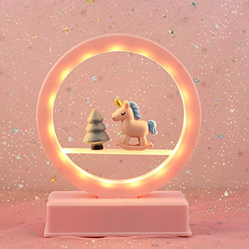 Cadeauwekker verjaardagsfeest decoratie slaapkamer meisje decoratie klein nachtlampje