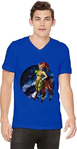 Dota 2 Hero Enchantress Mens V-neck T-shirt XX-Large
