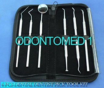 Dental Dentist Pick Tool Kit 6 Piece