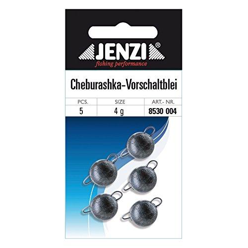 Jenzi Cheburashka Bleikopf-System Schnellwechselblei, 8g 4 Stück