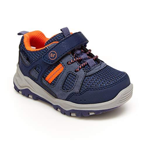 Stride Rite 360 Boy's Artin 2.0 Athletic Running Shoe, Navy, 10 Toddler