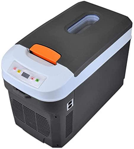 QMYYHZX Mini Nevera de Coche 25L Mini refrigerador portátil de Doble núcleo, Mini refrigerador 12V DC SBR Línea de Sellado Adicional, Utilizado para Barcos, enchufes, Camping, Camiones