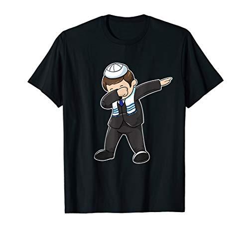Bar Mitzvah Dabbing Jewish Boy Funny Hanukkah Gift T-Shirt