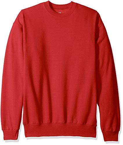 Hanes 7.8 oz. 50/50 Fleece Crew (P1607) Deep Red, 5XL