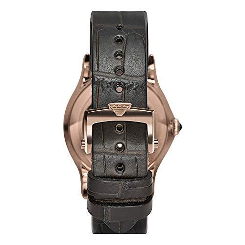 Emporio Armani ARS3403 Herenhorloge met lederen armband