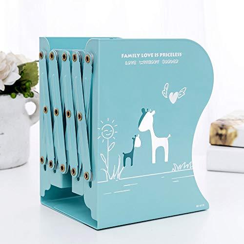 Madeinely boekensteun, eenvoudige stijl, verstelbaar, voor zware planken, boeken voor tijdschriften, notitieboeken, cd's voor kantoor en school