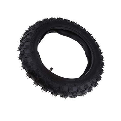 LKK-KK Mini Dirt Bike Reifen 2,50-10 & Schlauch mit geradem Ventilschaft for Motorrad Motocross Scooter