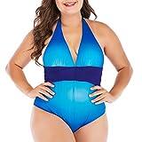 NOBRAND - Traje de baño para mujer, conservador, europeo y americano, sexy y gordo, XL, ropa deportiva