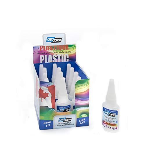 Instant Glue/Super Glue Universal 20 gr Low Viscosity and Fast Cure Super Glue Even Under Low Humidity Conditions. Designed for bonding Hard/Soft Plastics and Rubber, Metal, Ceramic and Glass