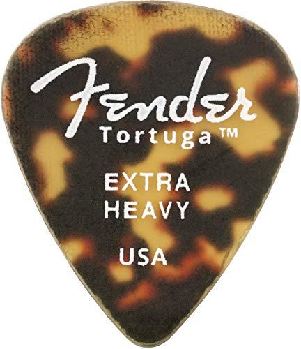Fender ピック Tortuga™ 351 Extra Heavy (6)
