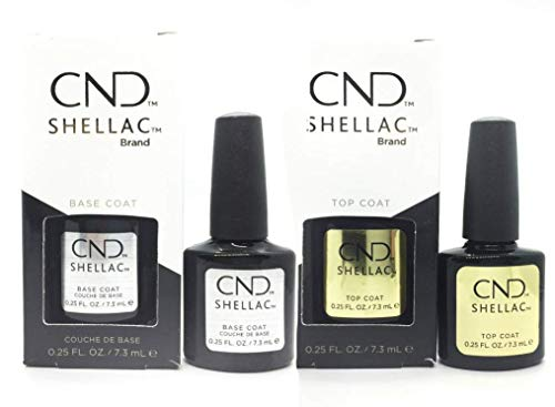 CND Original Shellac Base Coat plus Top Coat (2 x 7,3 ml)