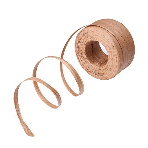 Raffia Papier Handwerk Bast Band, 1/4 Zoll x 100 Yards
