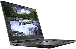 Dell Latitude 5490 Laptop -Intel Core i5-8250U, 14 Inch, 500GB, 4GB, Camera, BT, Eng-Arb Keyboard, Linux, Black