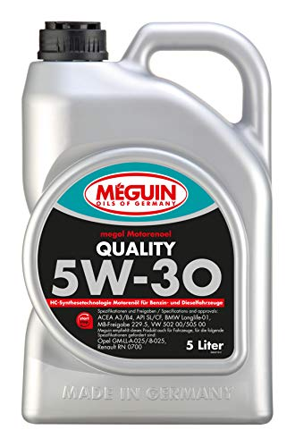 Meguin 6567 megol Motoröl Quality SAE 5W-30, 5 L
