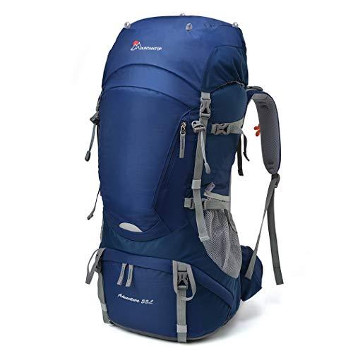 Mountaintop Zaino da Trekking 35/40 litre Outdoor Donna e Uomo con Protezione Impermeabile per alpinismo arrampicata equitazione ad Alta borsa da viaggio,Multifunzione