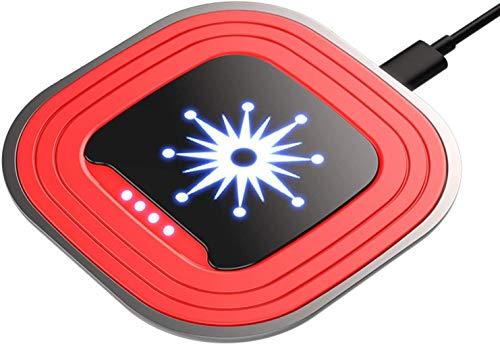 OH Cargador Inalámbrico, Estadilla de Carga Inalámbrica de Carga Inalámbrica de 10W Max Cartamiento Certificada Qi-Certificada Certificada Certificada para Iphone 11/11 Pro Max/Xr