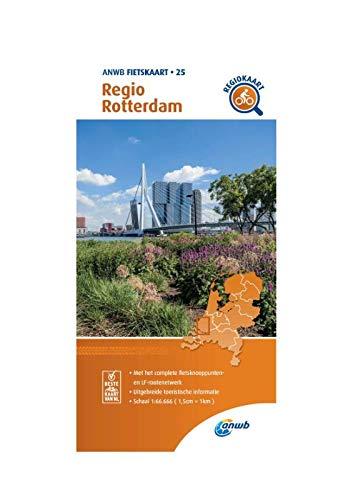 Fietskaart Regio Rotterdam 1:66.666