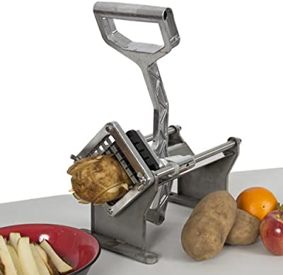 Best Choice Products® Potato French Fry Fruit Vegetable Cutter Slicer Commercial Quality w/ 4 Blades