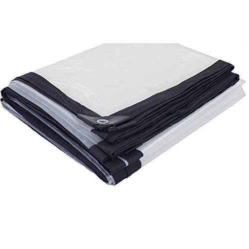 Lona Impermeable Exterior 2x3M, Toldo Lona Alquitranada Tela, Plegable Ojal De Metal De Plástico, Protector Solar A Prueba De Lluvia Transparente Resistencia Al Desgarro