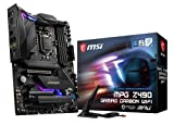 MSI MPG Z490 GAMING CARBON WIFI Scheda Madre Gaming (ATX, 10 Gen Intel Core, LGA 1200 Socket, DDR4, SLI/CF, Dual M.2 Slots, USB 3.2 Gen 2, Wi-Fi 6, DP/HDMI, Mystic Light RGB)