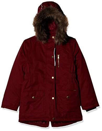 NAME IT Mädchen NKFSNOW10 Jacket 1FO Jacke, Rot (Biking Red Biking Red), (Herstellergröße: 140)